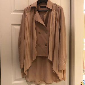 Jackets & Blazers - New* made in Korea pleated jacket